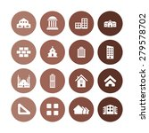architecture icons universal... | Shutterstock . vector #279578702