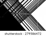 urban geometry  looking up to... | Shutterstock . vector #279586472