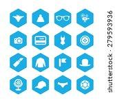 accessories icons universal set ... | Shutterstock . vector #279593936