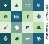 accessories icons universal set ... | Shutterstock . vector #279596366