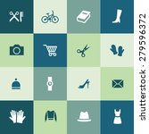 accessories icons universal set ... | Shutterstock . vector #279596372