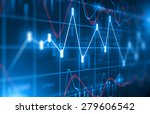stock market chart  background | Shutterstock . vector #279606542