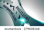 political cooperation on the... | Shutterstock . vector #279608168