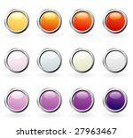 vector blank buttons for web... | Shutterstock .eps vector #27963467