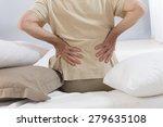 back ache senior man | Shutterstock . vector #279635108