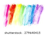 color water drawing | Shutterstock . vector #279640415