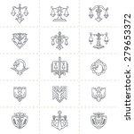 justice symbols set. symbols... | Shutterstock .eps vector #279653372