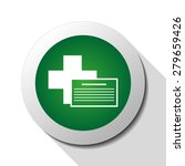medical document  web icon.... | Shutterstock .eps vector #279659426