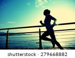 healthy lifestyle sports woman... | Shutterstock . vector #279668882