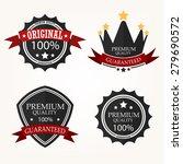 premium quality label sets | Shutterstock .eps vector #279690572