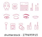 vector beauty make up cosmetics ...