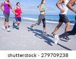 Friends Doing Jogging Together...