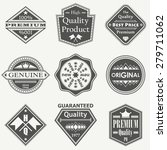 set of vintage retro labels ... | Shutterstock .eps vector #279711062
