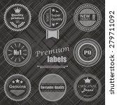 premium labels set. retro... | Shutterstock .eps vector #279711092