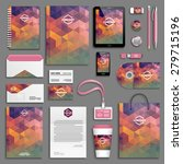 corporate identity template set.... | Shutterstock .eps vector #279715196