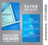 flyer brochure vector design | Shutterstock .eps vector #279718808