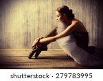 professional ballet dancer... | Shutterstock . vector #279783995