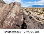 petroglyphs  boca negra... | Shutterstock . vector #279790106