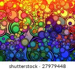 retro abstract psychedelic... | Shutterstock . vector #27979448