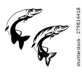 vector image of fish logo   Shutterstock .eps vector #279814418