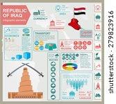 iraq  infographics  statistical ... | Shutterstock .eps vector #279823916