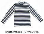 stripped unisex sweater ... | Shutterstock . vector #27982946