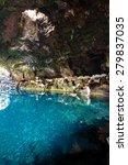 amazing jameos del agua inside  ... | Shutterstock . vector #279837035