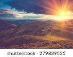 beautiful landscape in the... | Shutterstock . vector #279839525