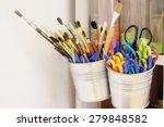 Art Supplies In A Box