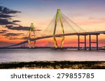 charleston  south carolina  usa ... | Shutterstock . vector #279855785