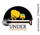 under construction design over... | Shutterstock .eps vector #279860135