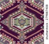 ornamental seamless pattern | Shutterstock .eps vector #279887408