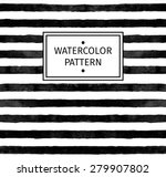 vector seamless watercolor... | Shutterstock .eps vector #279907802
