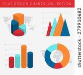 set of vector flat design info... | Shutterstock .eps vector #279910682