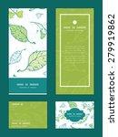 vector lineart spring leaves... | Shutterstock .eps vector #279919862