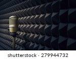 microphone in radio studio | Shutterstock . vector #279944732