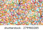 print  seamless pattern with... | Shutterstock .eps vector #279983285