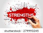 strengths word cloud  business... | Shutterstock . vector #279993245