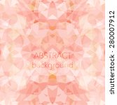 bright polygonal background ... | Shutterstock .eps vector #280007912