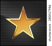 vector illustration of golden... | Shutterstock .eps vector #280017986