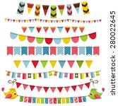 Flags  Bunting And Garland Set