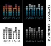 """gradient logo """"city  keys  eq""""   Shutterstock .eps vector #280081058"""