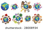 recycling   environment icons   ...   Shutterstock .eps vector #28008934