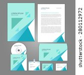 corporate identity business set ... | Shutterstock .eps vector #280112972