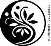 yin yang series | Shutterstock .eps vector #280120682