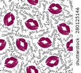 joyful vector seamless pattern... | Shutterstock .eps vector #280125146