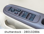 car interior details of door... | Shutterstock . vector #280132886