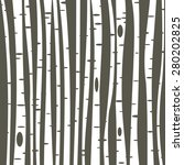birch trees background for you...   Shutterstock .eps vector #280202825