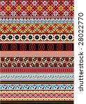 stripe pattern vector wallpaper ... | Shutterstock .eps vector #28022770