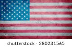 flag of usa | Shutterstock . vector #280231565